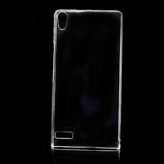 Transparent Clear Crystal Case for Huawei Ascend P6
