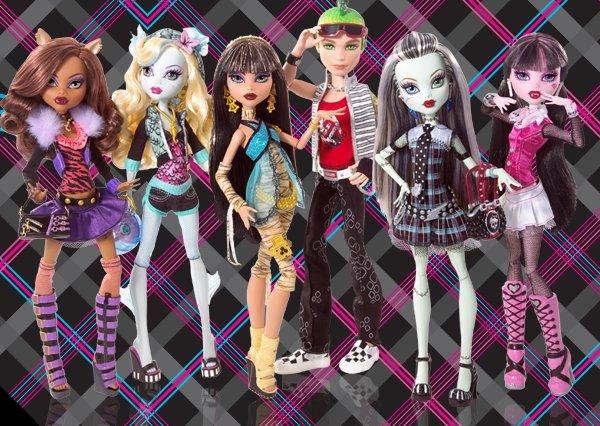 Monster High es la nueva marca de muñecas de Mattel que se espera
