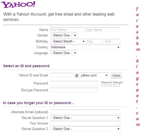 cara membuat email cara membuat e mail yahoo yahoo gimail tutorial ...