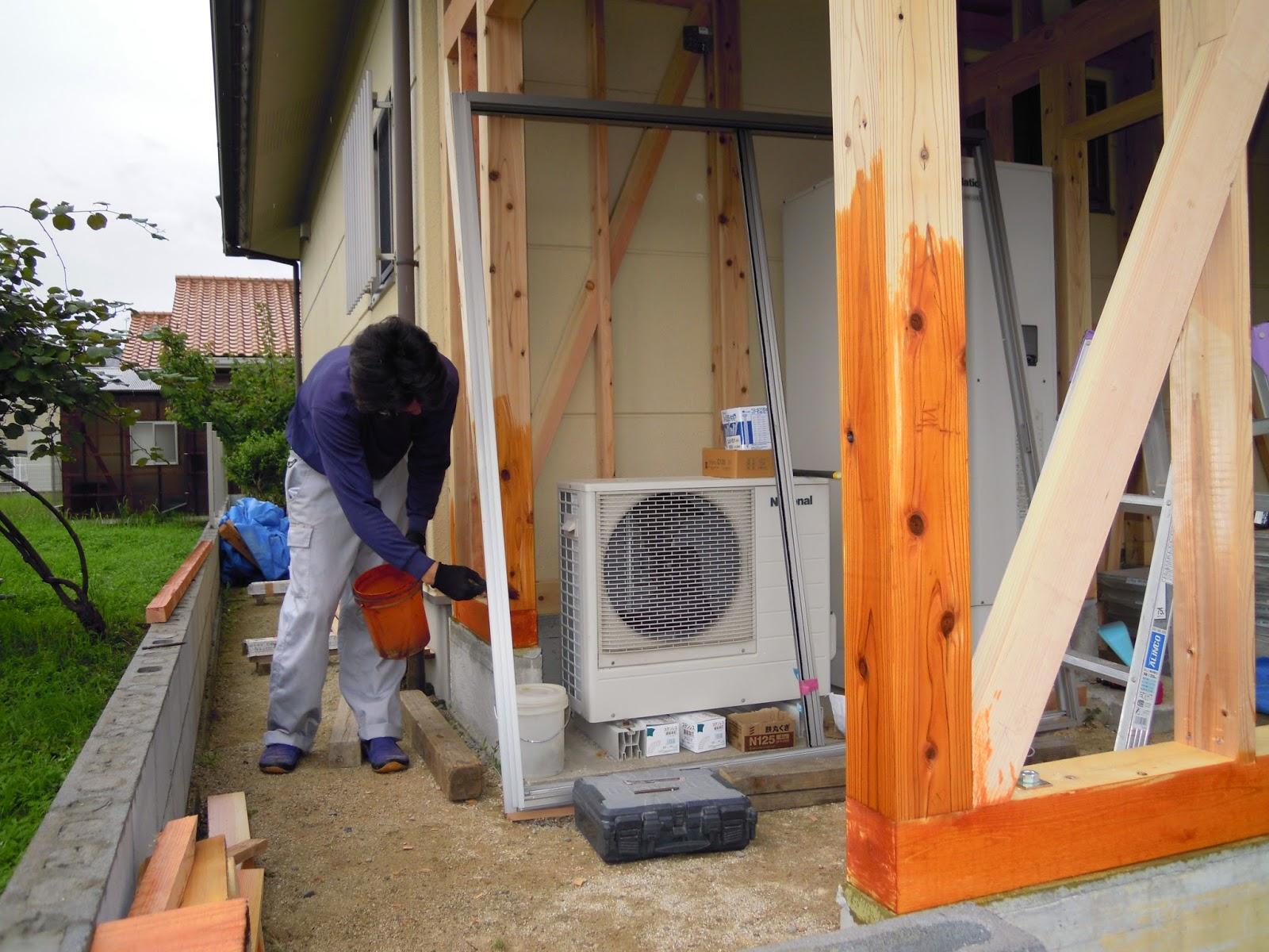 洗濯物干場 島根県 浜松建設株式会社