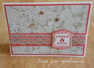 Hochzeit-Vintage-Karte
