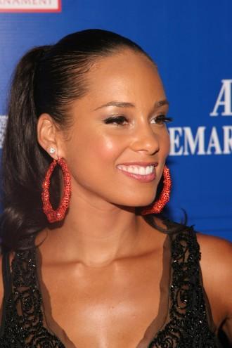 alicia keys hair. Hollywood Actress,Alicia Keys