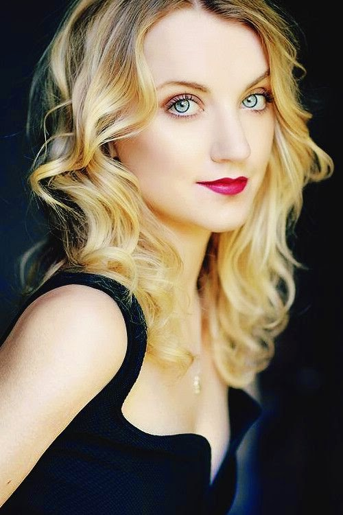 Evanna Lynch. Goodness, she is stunning.