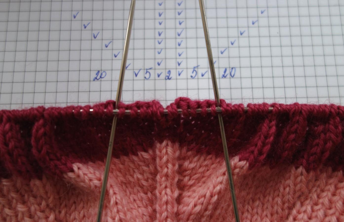 Вязание или вышивание при котором петля заходит за петлю 50