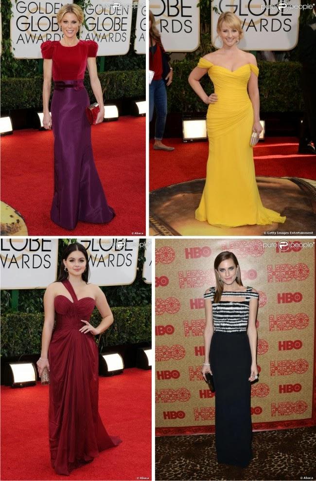 Globo de Ouro 2014, red carpet, look de famosas, look de celebridades, vestidos, vestidos de festa