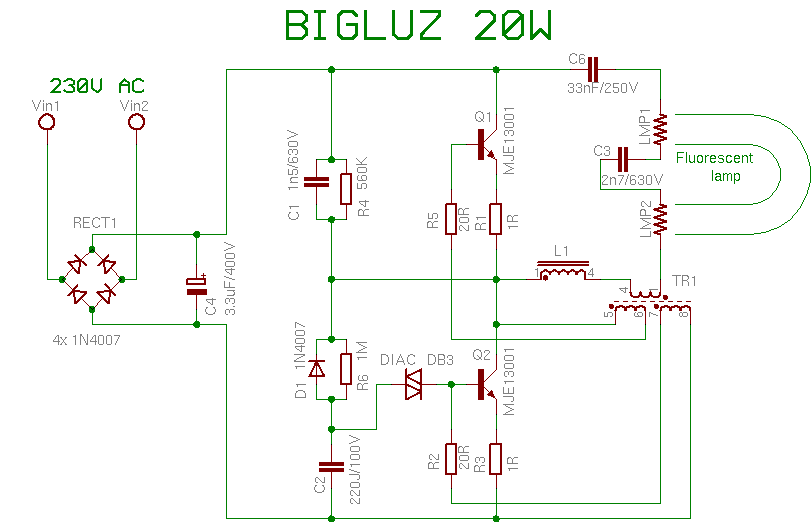 Bigluz 20w CFL BULB REPAIRING TIPS  Tips And Trick Electronic