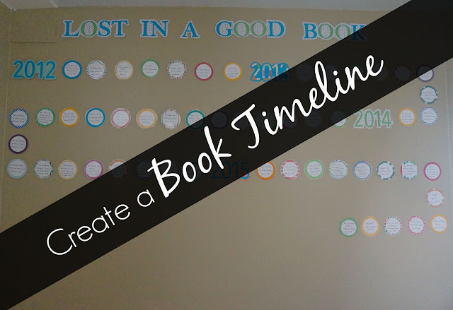 Create a book timeline so you and your kids can enjoy remembering all the great books you've read!