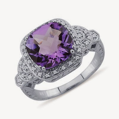 best purple engagement ring for your ring
