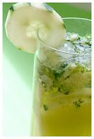 photo mojito et rondelle de concombre