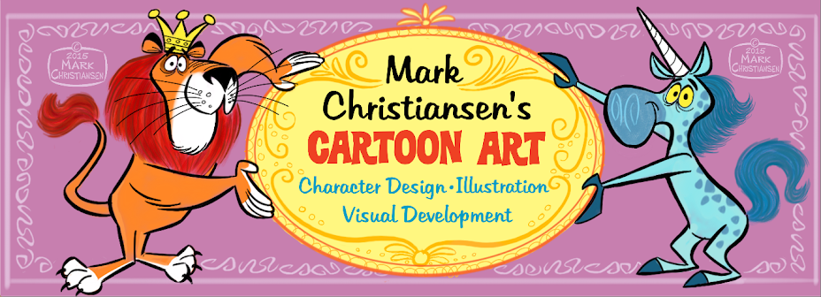 Mark Christiansen's Art and Cartoon Blog