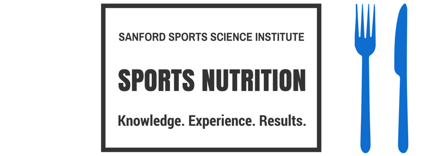 SANFORD Sports Nutrition Blog