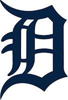 Detroit tigers logo letter D