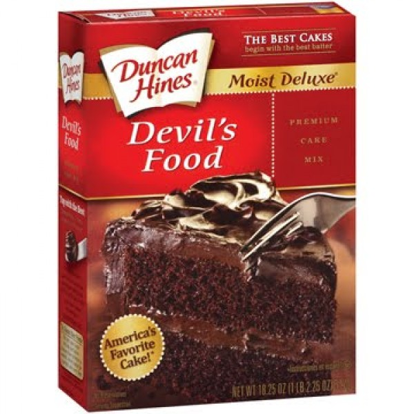 Duncan Hines Devil S Food Cake Mix