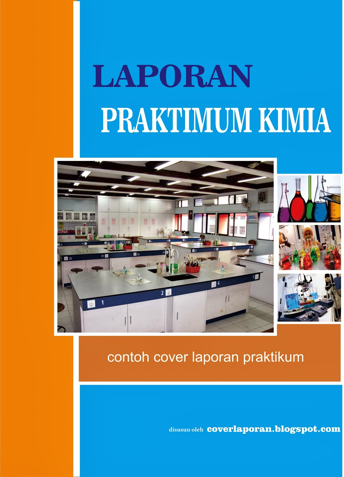 Cover Laporan Praktikum Kimia Download Contoh Cover Laporan