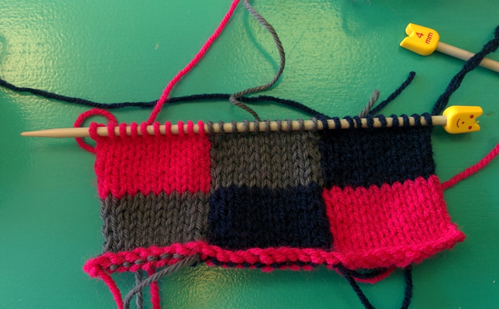 Louise Dawson Design: Fair Isle and Intarsia Workshop at Make Do ...