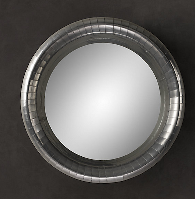 RESTORATION HARDWARE COWLING MIRROR