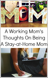 A mom who felt like she was failing as a stay-at-home mom shares her thoughts now as a working mom. Do you feel like you are failing as a stay-at-home mom? The grass is always greener on the other side.