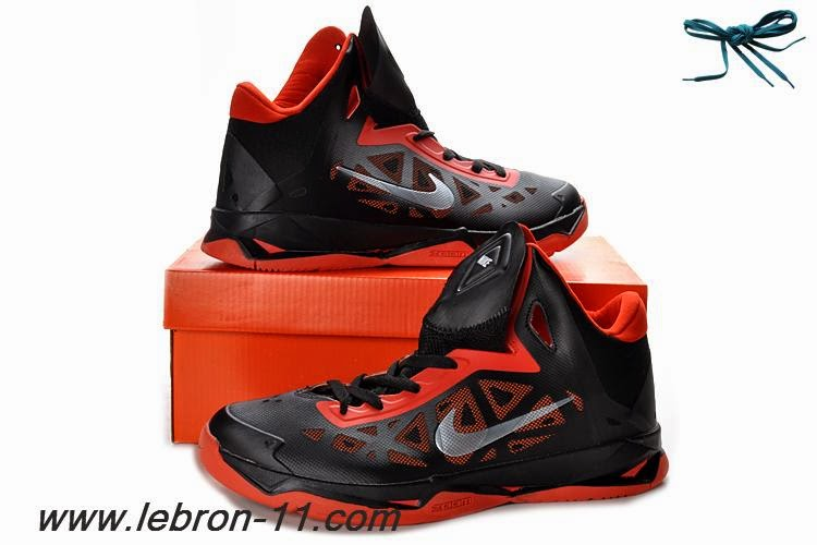 Nike Zoom Hyperchaos Basketball Shoes For Men Charcoal Total