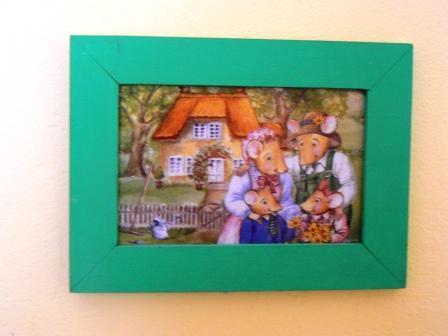 Camera Dei Bambini Fai Da Te : Piccole cose genuine cornici fai da te per la camera dei bimbi
