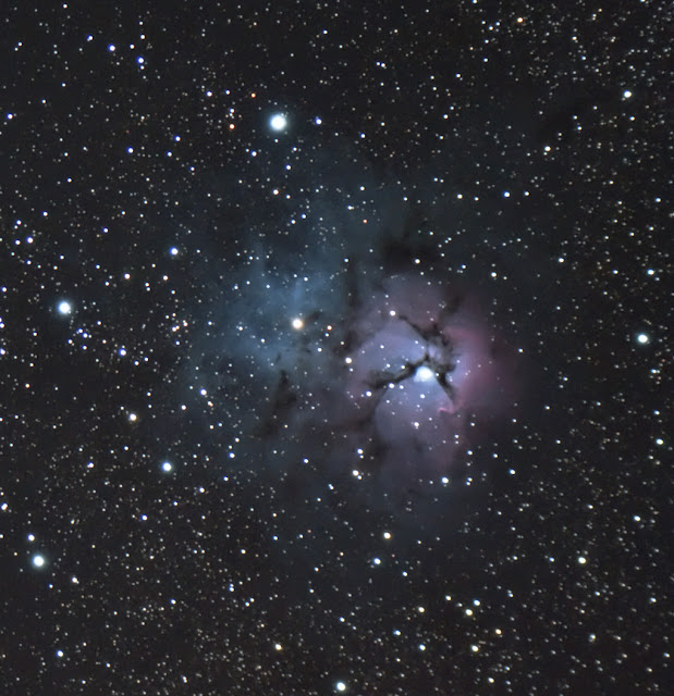 The Trifid Nebula - I used my Explore Scientific ED80 Telescope on a Celestron CG-5 mount