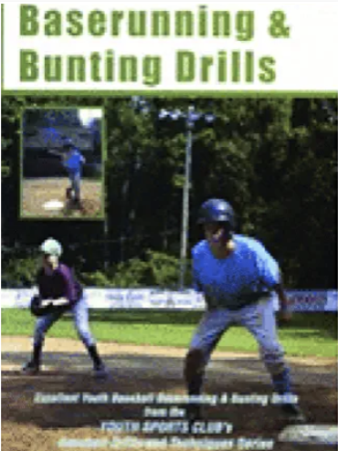 Baserunning And Bunting Drills
