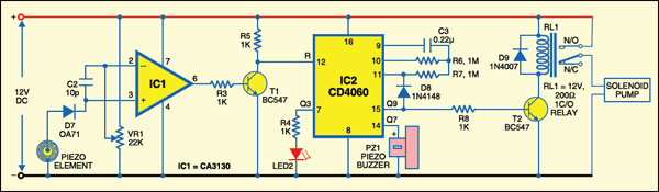 Sensor Circuit Diagram