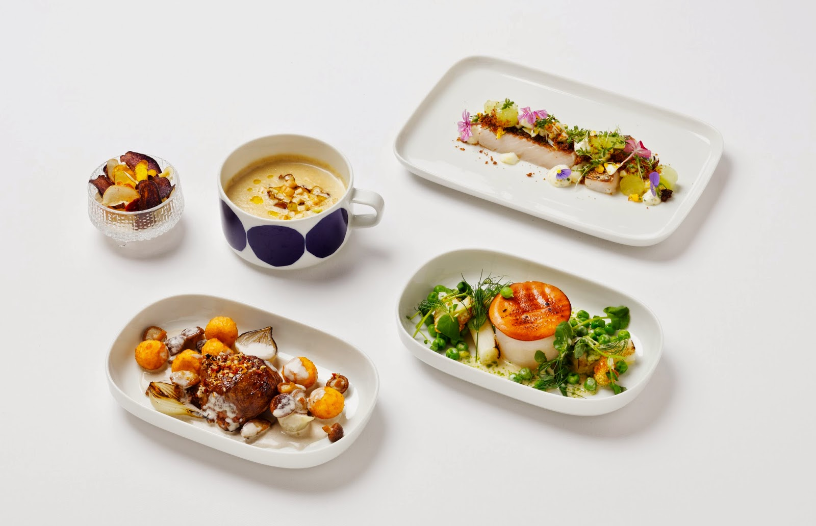 Finnair Business class new meals 2015