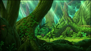 Floresta. Pinwheel_Forest_anime_inside