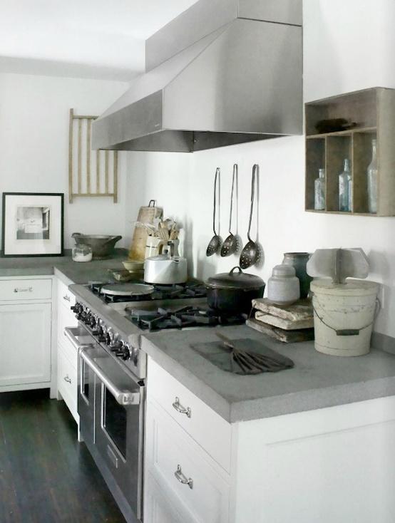 cocinas de concreto pulido dise o de cocinas con cemento pulido kansei cocinas