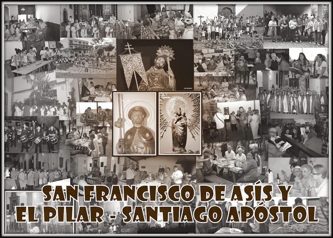 Parroquias de San Francisco de Asís y                    Nstra. Sra. de El Pilar y Santiago Apóstol