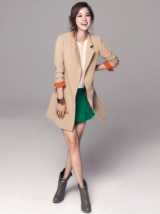 Twenty2 Blog Kim Tae Hee For Isabey Spring 2013 Catalogue Fashion And Beauty