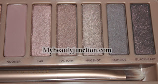 Urban Decay N@ked3 eyeshadow palette review, swatches and photos
