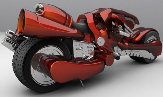 Dc Riders Cloud Concept Bike