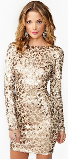 Dress The Population Cat Call Sequin Dress Wild-Society