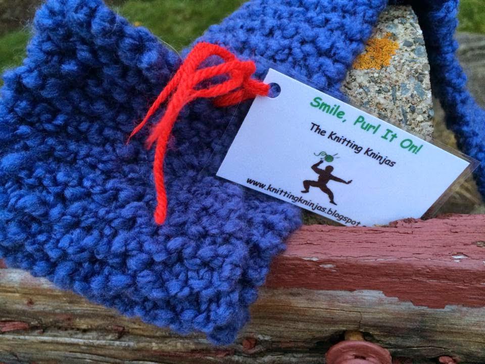 Knitting Knotty : The knitting kninjas tales from knotty knitter
