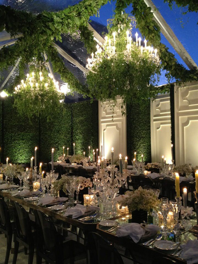 Wedding trends strictly long tables part 2 belle the for Beach weddings in ny