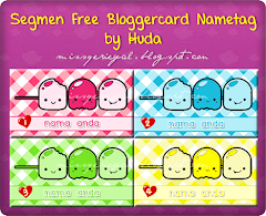 Segmen Free Bloggercard Nametag by Huda
