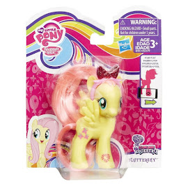 MLP Hairbow Singles Fluttershy Brushable Figure