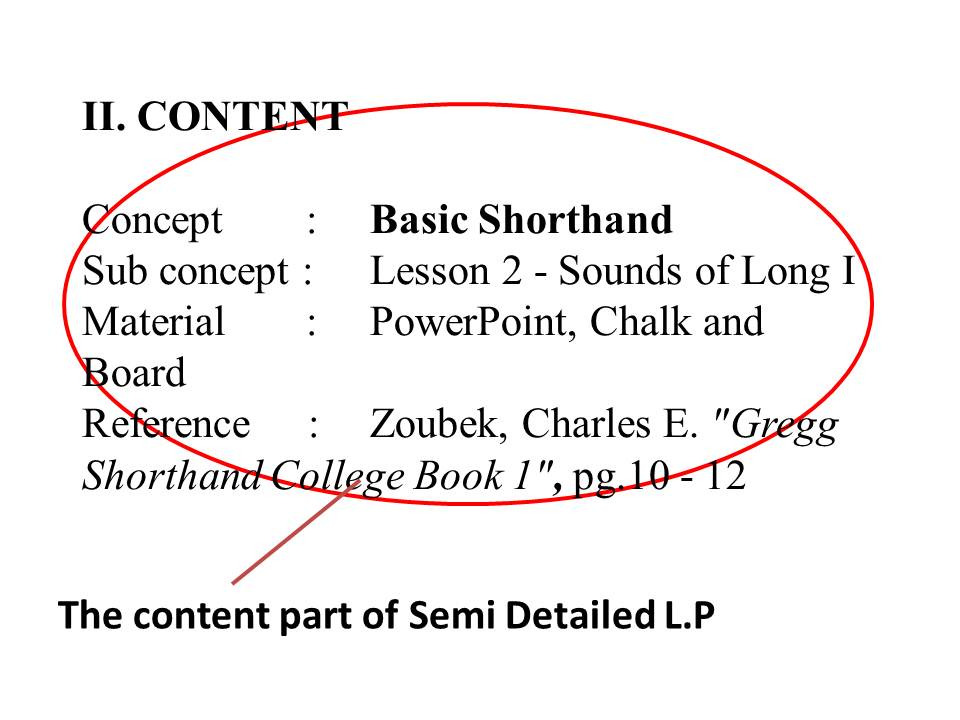 Semi Detailed Lesson Plan Format