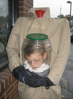 Headless Boy Head In A Jar Costume