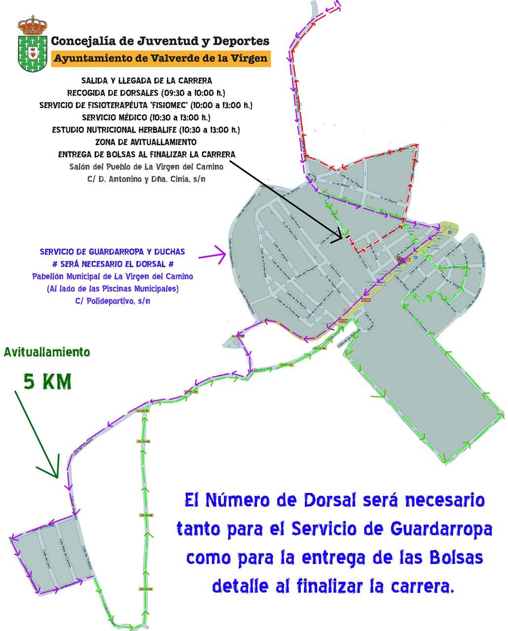 10 KM 'Virgen del Camino' Homenaje Antonino Baños | Domingo 27 de Febrero de 2011 W_circuito