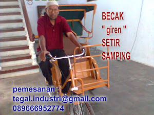 produk becak tegal