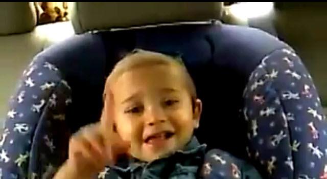 Este bebe italiano adora Led Zeppelin
