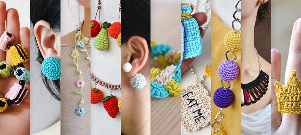 crochet bijoux - besenseless.blogspot.com