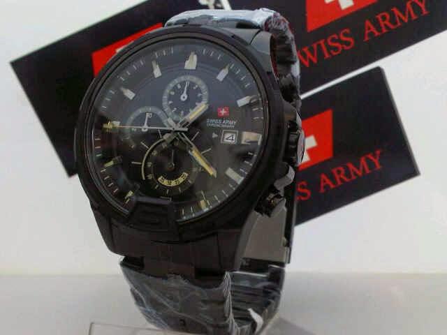 Swiss Army SA 1164 AB Original hitam