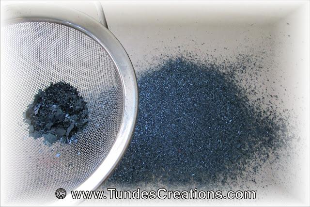 Home made edible glitter by Tunde Dugantsi