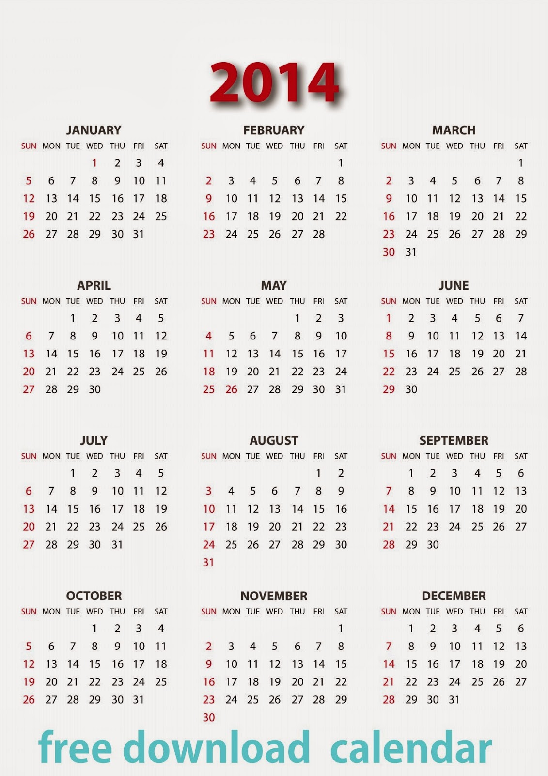 Year Calendar 2014 : New year calendar hd free download wallpapers images
