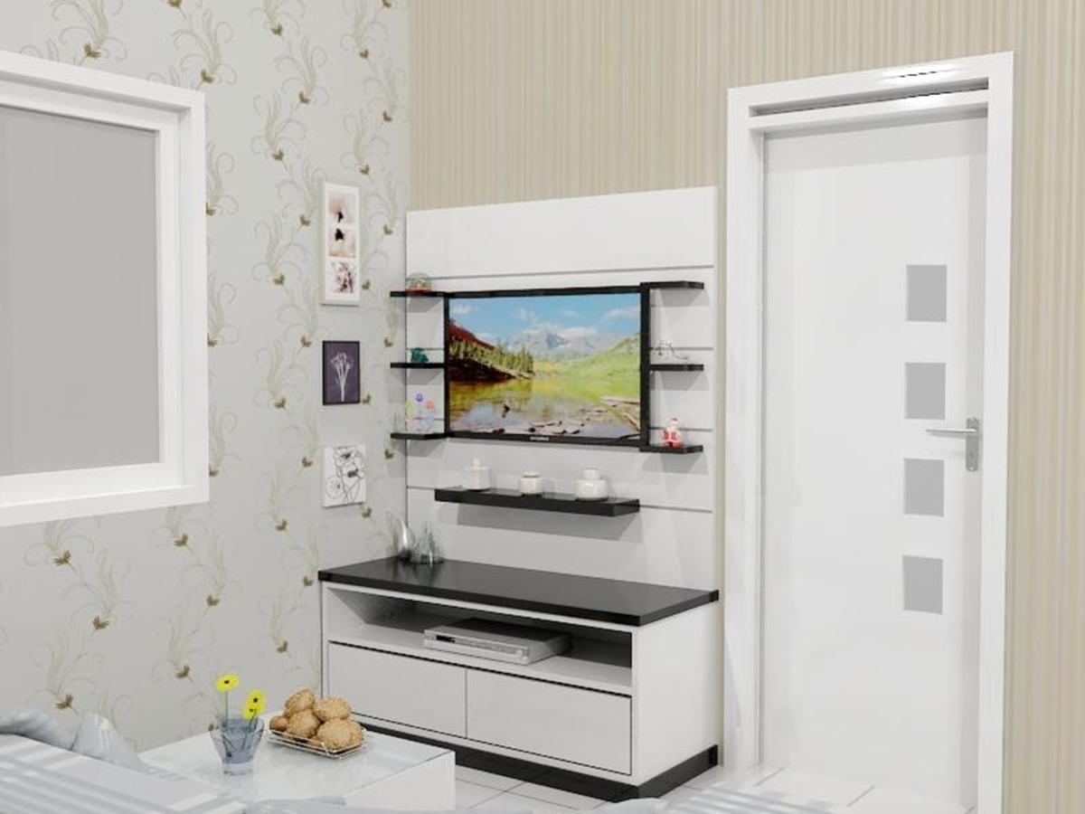 RAK TV APARTEMEN Loretta Interior Design