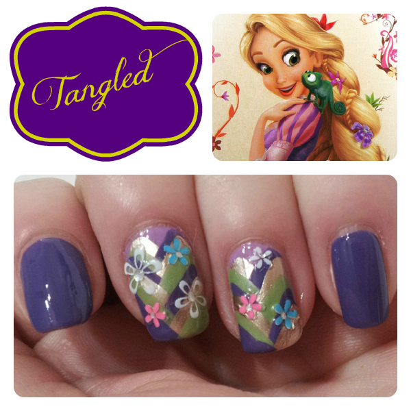 Rapunzel Nails