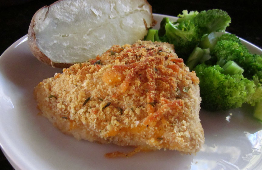 Creatively Domestic: Crispy Cheddar Chicken